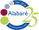alabare-25th-logo