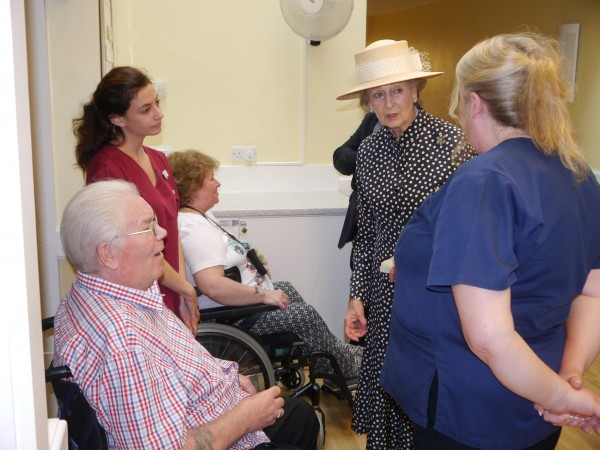 Local Hospital Home welcomes Princess to Worthing - Cobseo