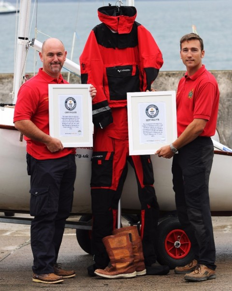 Armed forces dinghy duo crowned World Record breakers - Cobseo