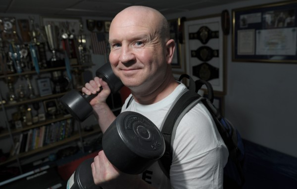 Paddy Doyle, Balsall Common, is going for his 300th world record - a speed, strength and stamina challenge.  mail_sender Mark Radford   mail_subject pics 2  mail_date Thu, 8 Aug 2013 07:36:15 +0000  mail_body         =