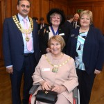 The Mayor, Cllrs Suzanne Brown, Katrina Wood, Valerie Letheren