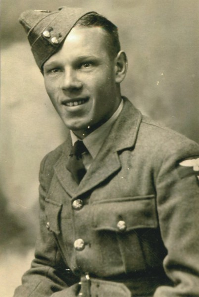 William Gerard Lackey in RAF uniform
