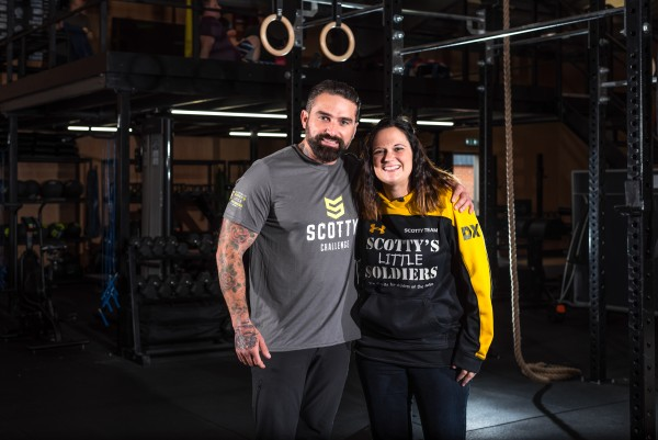 Ant Middleton and Scotty's founder Nikki Scott