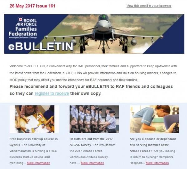 RAFF newsletter