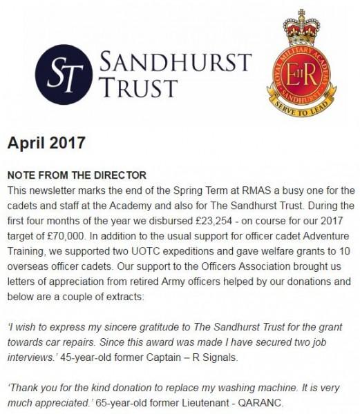 Sandhurst Trust