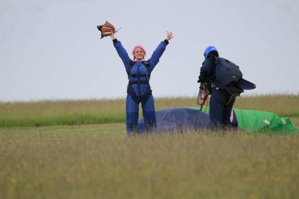 Carol skydive 2