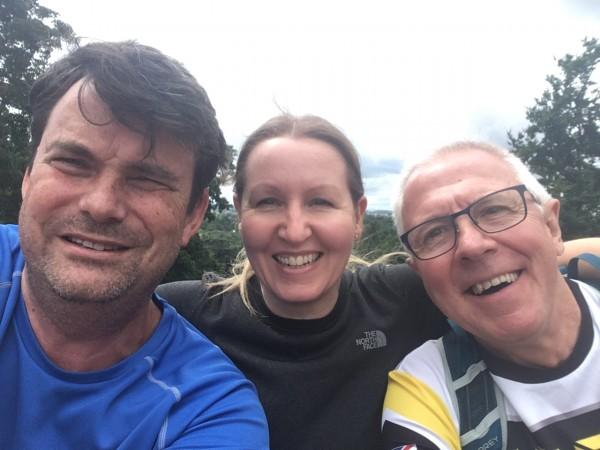 Debbie Stewart, Ian McPherson, Ruairhri Magee