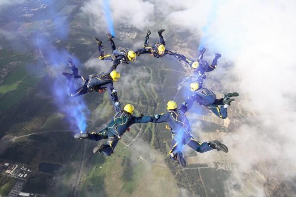 Parachute Display Team 2