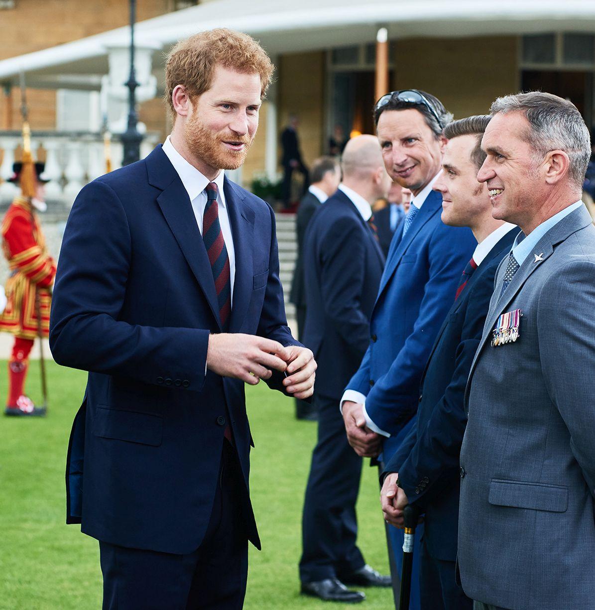 HRH Prince Harry Hosts The NFA Garden Party