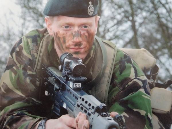 RSGH - Stephen Vause 4 Battalion THe Rifles