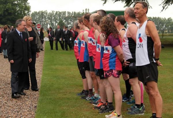 Commemorative Somme Poppy Run2