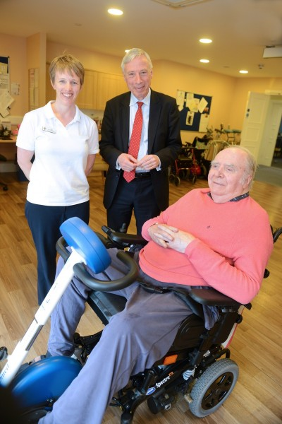 RSGH - Earl Howe with Jo and John