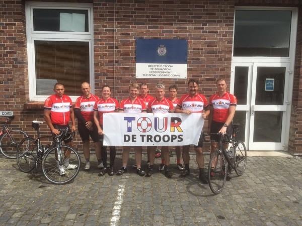 Tour de Troops in Bielefeld
