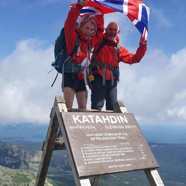 They've made it! Summit Mount Katahdin, Maine USA 17th Aug via Insta