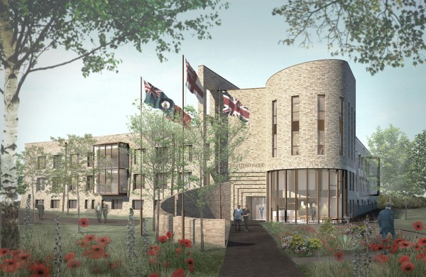 How the new Broughton House Veterans Care Village will look