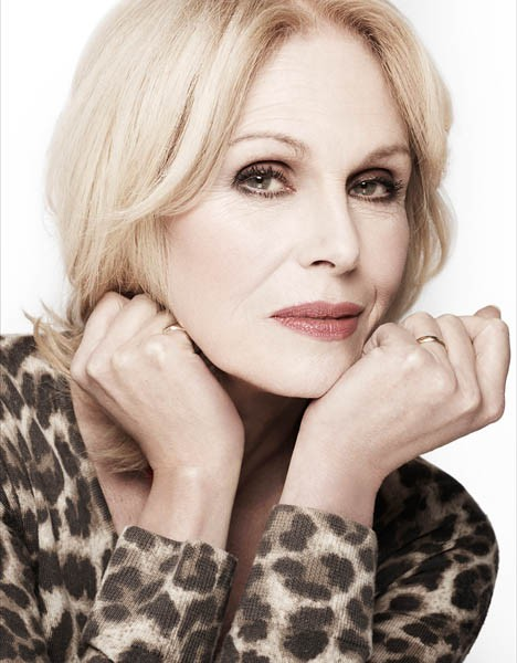 Joanna Lumley - Rankin colour