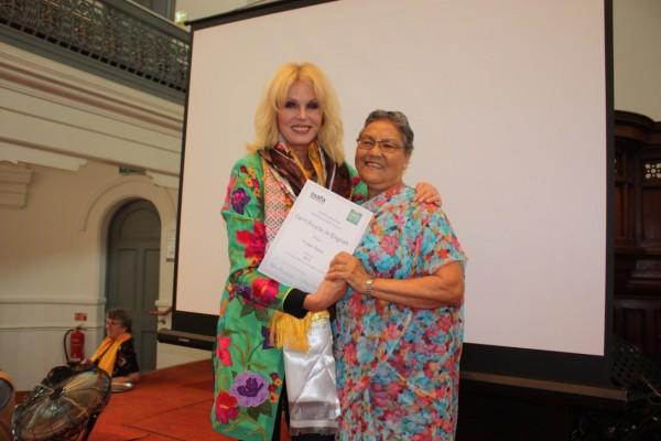 Joanna at SSAFA Reading
