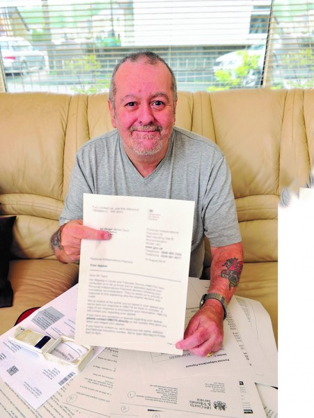 Caption: RAF veteran Roger Gard, of Wales, had his benefits reduced after a  welfare reform. He contacted the RAF Benevolent Fund who appealed the  ruling, securing him a year's worth of backdated benefits. Photo: RAF Benevolent Fund