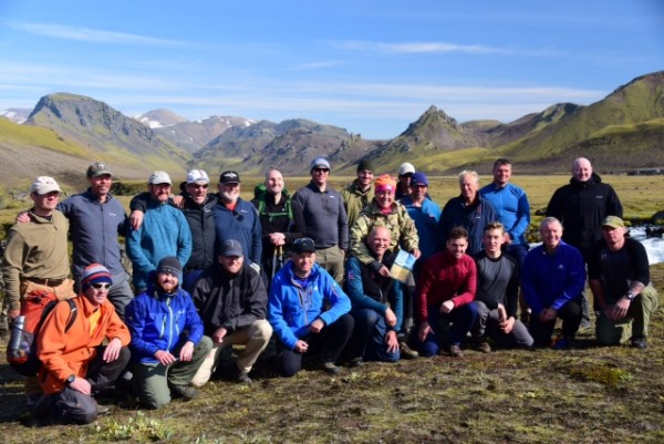 The Iceland Trek Challenge group