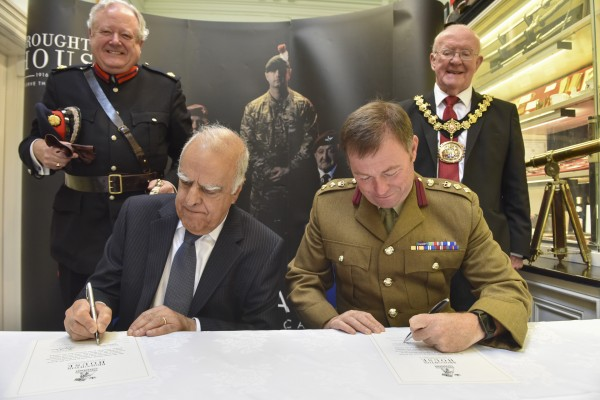 Broughton House signs the Armed Forces Covenant