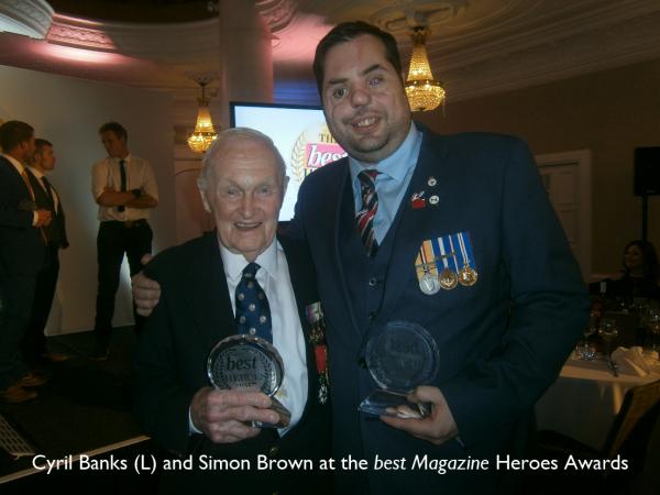 Cyril Banks and Simon Brown
