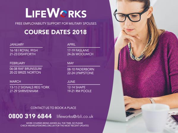 LWF_ course dates 2018
