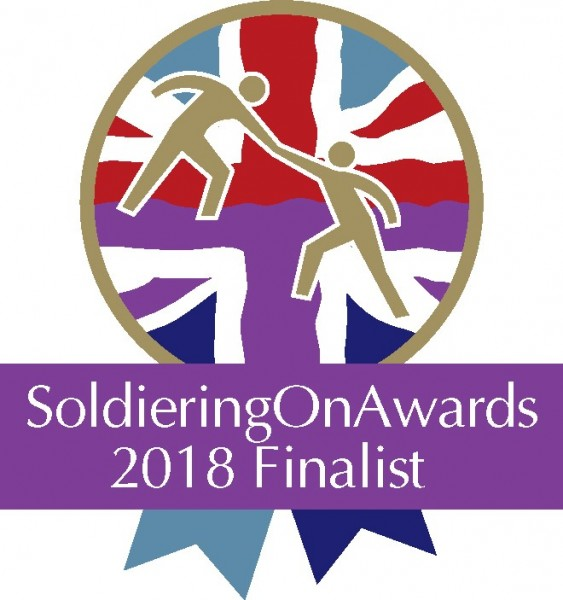 Soldiering on Finlist 2018 logo
