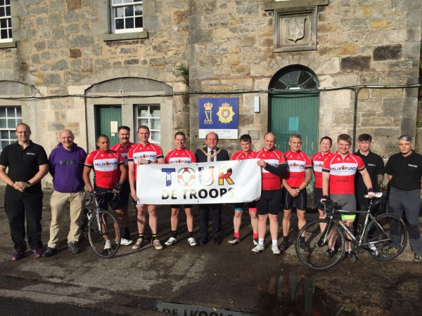 Tour De Troops Frank Ross The Rt Hon Lord Provost of Edinburgh