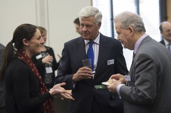 DMWS at reception at Portcullis House, London, UK. Photograph by Ben Stevens Tuesday 20th of March 2018