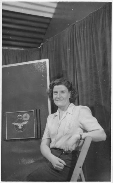 Rose Davies at Ventnor 1944 B