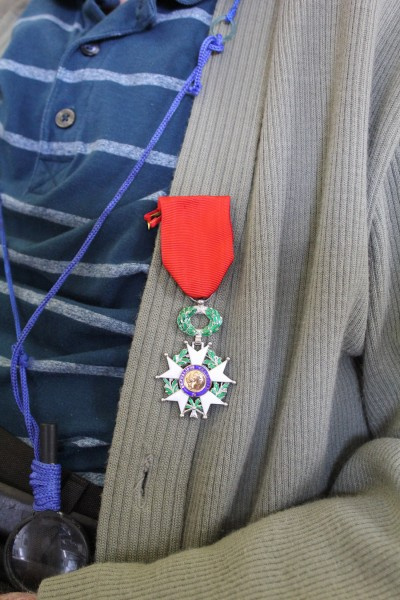The prestigious Legion d'honneur Medal