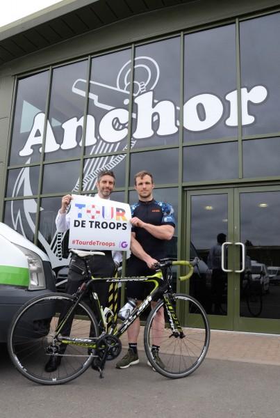 Anchor Vans supports Tour de Troops 3 180518