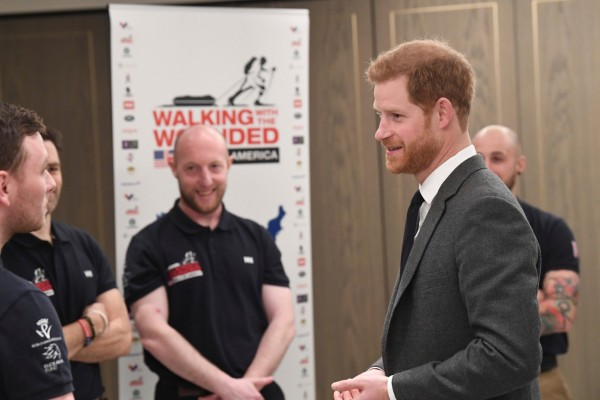Jonny Meeting Prince Harry
