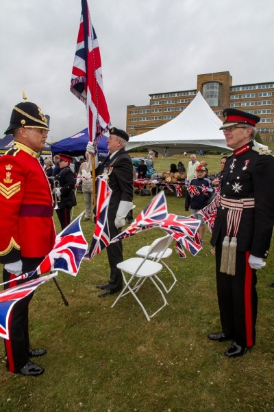 Armed Forces Day 2017 at the Blind Veterans UK centre in Brighton