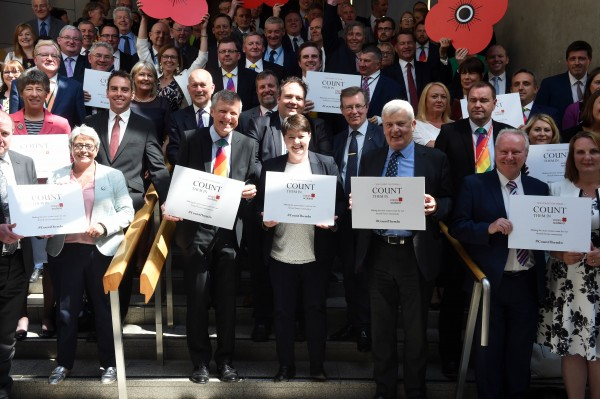 MSPS TO LEND SUPPORT TO 'COUNT THEM IN' CENSUS CAMPAIGN