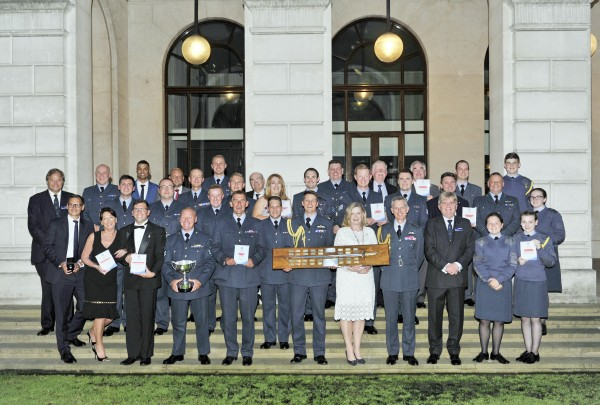 Award winners on the night. Photo: RAF Benevolent Fund