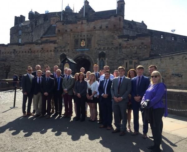 Tour De Troops at Edinbugh Castle with Brigadier Gareth Collett CBE