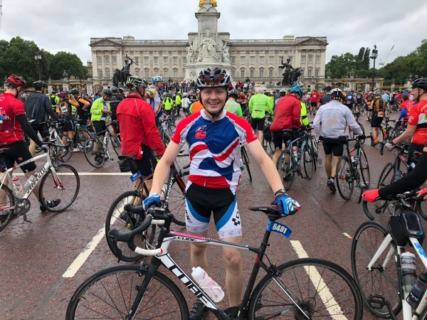 Luke Gay Ride London 2018