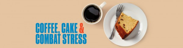 Coffee, Cake and Combat Stress banner